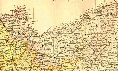 Pommern Germany Map.Brehmer